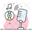 Mic Microphone Sound Recorder Icon