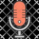 Recording Microphone Microphone Media Icon