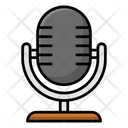 Singing Mic Microphone Media Icon