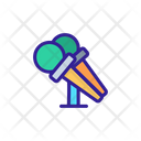 Public Speech Microphone Icon