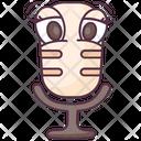 Microphone Media Singing Mic Icon