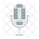 Microphone Interview Speaker Icon