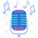 Microphone Entertainment Karaoke Icon