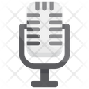 Microphone Media Singing Icon