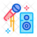 Microphone Speaker Equipment Icon