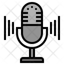 Microphone Mic Record Icon