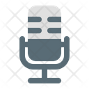 Microphone Radio Voice Recording Icon