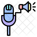 Microphone Radio Voice Icon