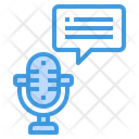 Microphone Podcast Blog Icon