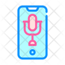 Dictaphone Phone Color Icon