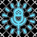 Logo Podcast Radio Icon