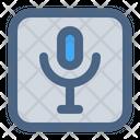 Microphone Mic Record Icon