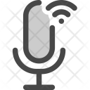 Microphone Podcast Audio Icon