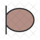 Microphone Circuit Wave Icon