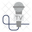 Microphone Mic Reporting Icon