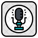 Microphone Record Sing Icon