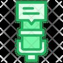 Mic Message Recording Icon