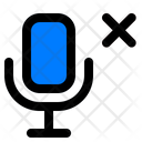 Microphone Not Connected Icon