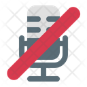 Microphone Off Mic Off Mic Icon