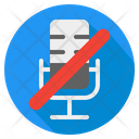Microphone Off Mic Off Microphone Icon