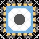 Microprocessor Microchip Circuit Board Icon