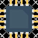 Processor Chip Microprocessor Icon