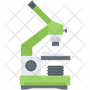 Microscope Study Laboratory Icon