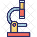 Lab Instrument Magnifying Medical Equipment Icon
