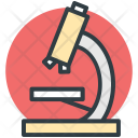 Microscope Research Experiment Icon