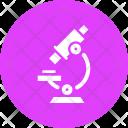 Microscope Test Lab Icon