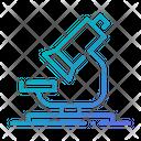Microscope Medical Lab Icon