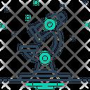 Microscope Instrument Laboratory Icon
