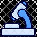 Microscope Health Lab Icon