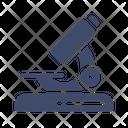 Microscope Bacteria Biology Icon