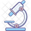 Instrument Microscope Laboratory Icon