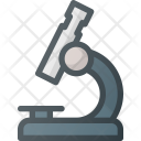 Microscope Magnifying Science Icon