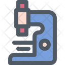 Microscope Science Research Icon
