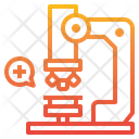 Microscope Laboratory Medical Icon