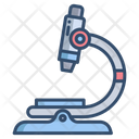 Microscope Research Tool Laboratory Tools Icon