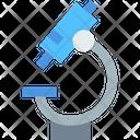 Microscope Research Tool Laboratory Icon