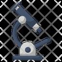 Bacteria Education Laboratory Icon