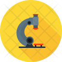 Microscope Research Test Icon