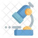 Microscope Research Structure Icon