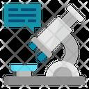 Microscope Research Laboratory Icon