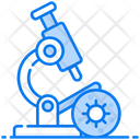 Microscope Research Equipment Light Microscope Icon