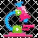 Lab Scope Test Tube Flat Icon Icon
