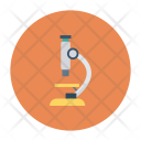 Lab Microscope Research Icon