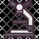 Laboratory Microscope Scientific Icon