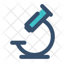 Microscope Science Lab Icon