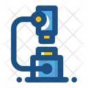 Microscope Laboratory Chemical Icon